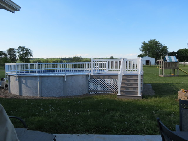 Above Ground Swimming Pool Pool Cleveland By Wet Wild Pools And Spas
