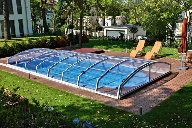 aquacomet modern pool montreal by aquacomet canada