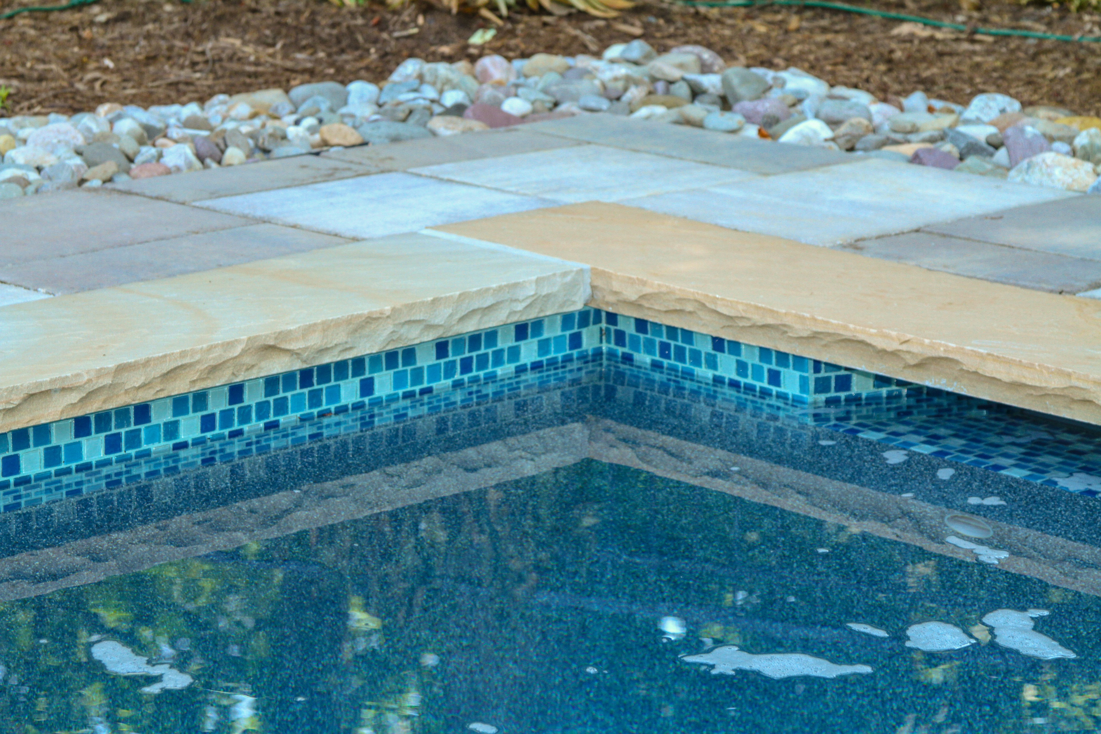 AFTER:  Pool patio and outdoor living space