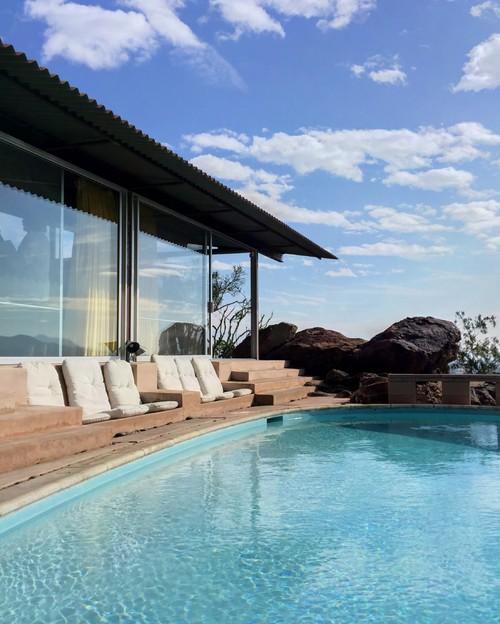 piscina casa en el desierto del arquitecto albert frey en diariodesign
