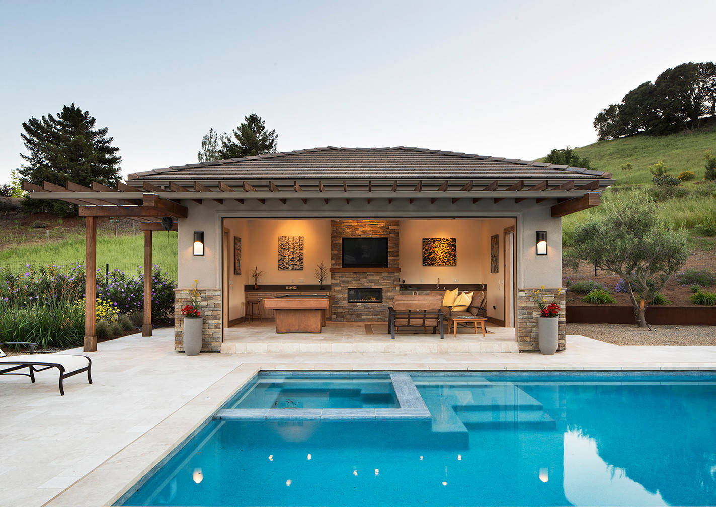 75 Beautiful Pool House Pictures Ideas December 2020 Houzz