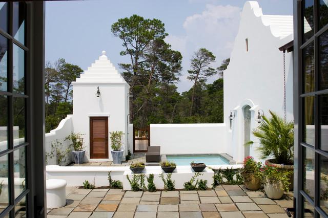 Alys Beach Villa mediterranean-pool