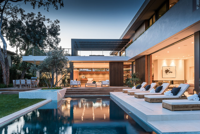 Amalfi Drive Residence - Modern - Pool - Los Angeles - by O plus L