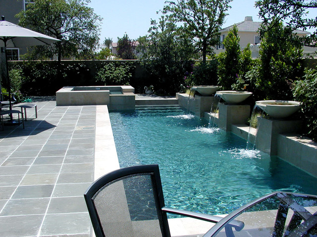Ams landscape design studios contemporary pool los for Pool design los angeles