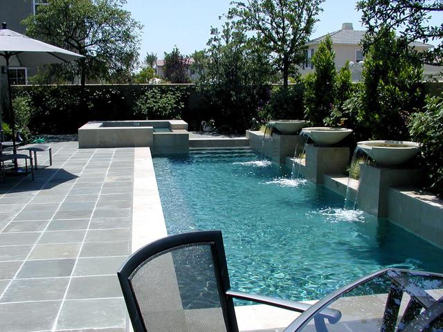 AMS Landscape Design Studios contemporary-pool