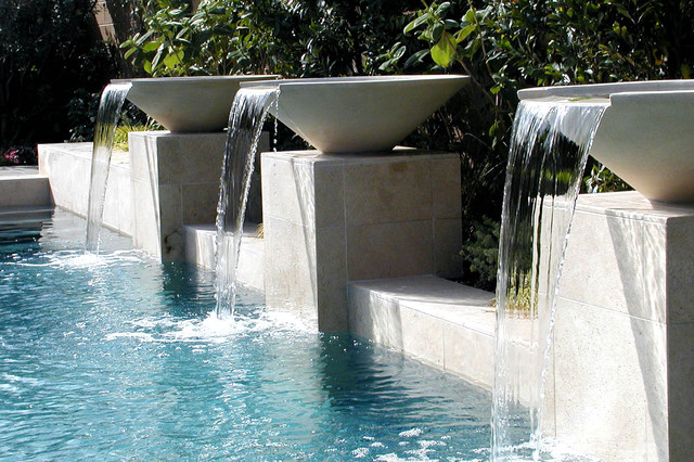 AMS Landscape Design Studios contemporary-pool