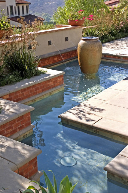 AMS Landscape Design Studios, Inc. mediterranean-pool