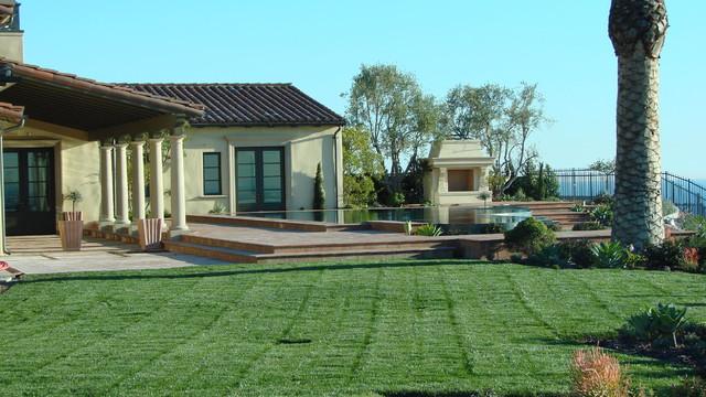 AMS Landscape Design Studios, Inc. contemporary-pool
