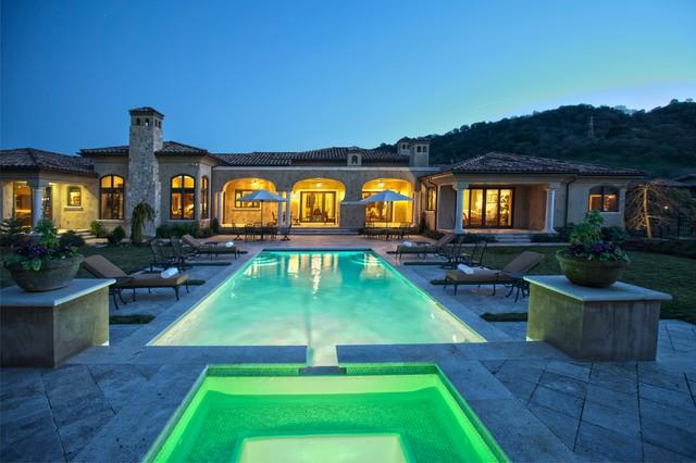 An Extraordinary Cordevalle Vineyard Estate mediterranean-pool