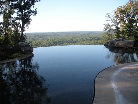 Apple Farm rustic-pool