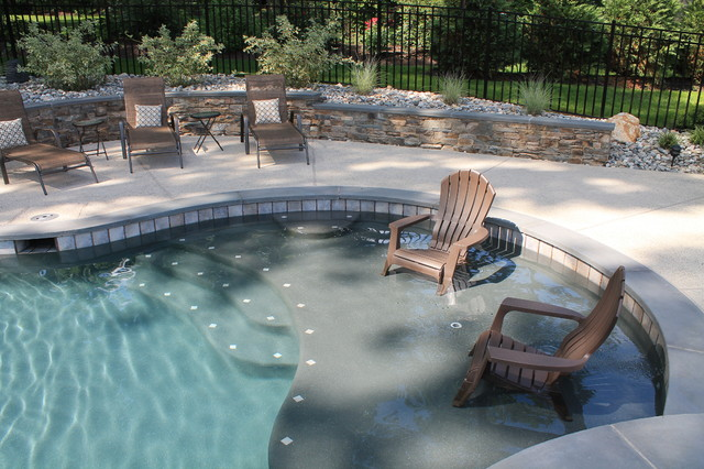 aqua bello designs custom pools traditional pool philadelphia