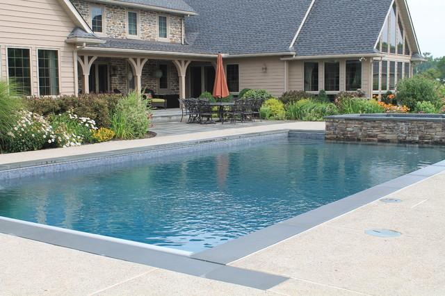 Aqua Bello Designs Custom Pools - Traditional - Pool ...