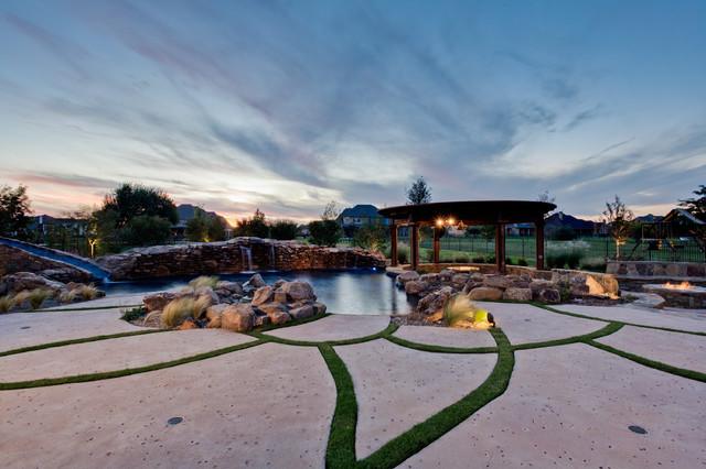 Aquarius   Custom Swimming Pool   Flower Mound, TX Tropical Pool