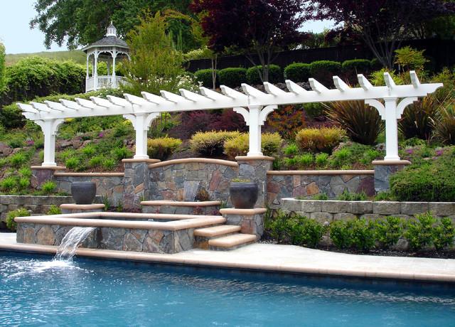 Arbors Architectural Artwork Traditional Pool San