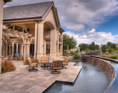 Schmidt Residence traditional-pool