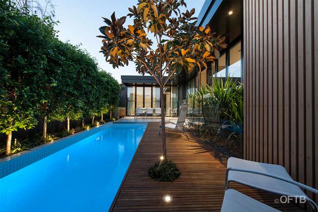 Armadale contemporary-pool