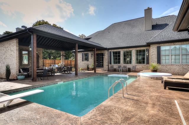 Ascot Drive. traditional-pool