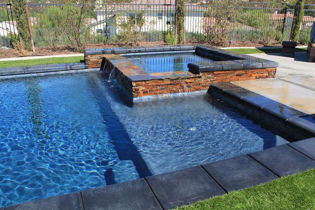 Assorted pools mediterranean-pool