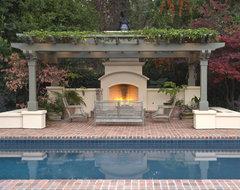 Atherton Residence Pool and Patio traditional-pool