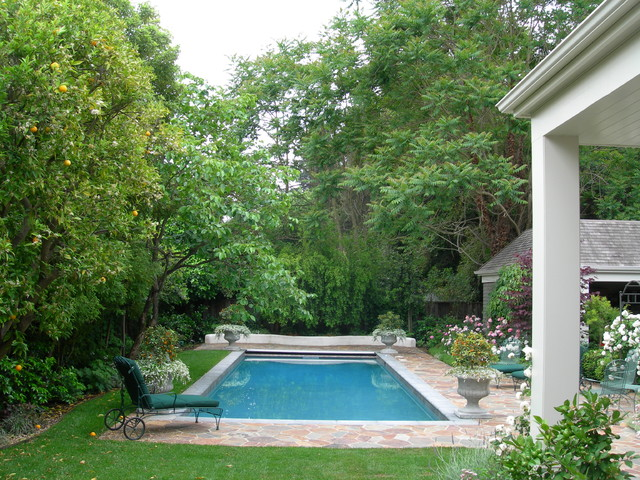 Atherton Residence traditional pool