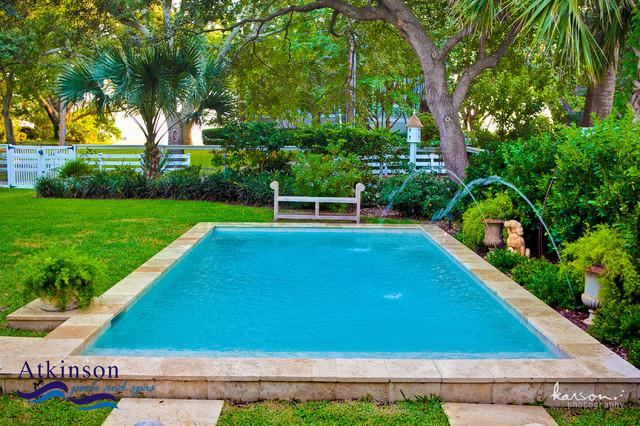 Atkinson Aquatech Pools and Spas traditional-pool