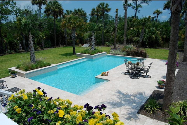 Atkinson Aquatech Pools and Spas modern-pool
