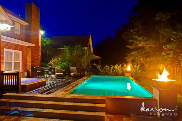 Atkinson Aquatech Pools and Spas traditional-pool