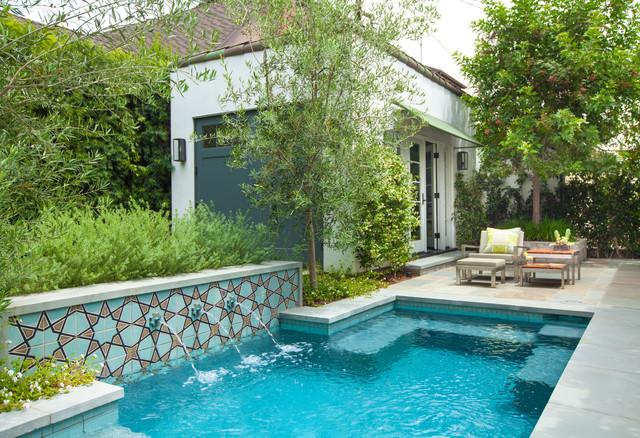 atwater spanish bungalow mediterranean pool los. Black Bedroom Furniture Sets. Home Design Ideas