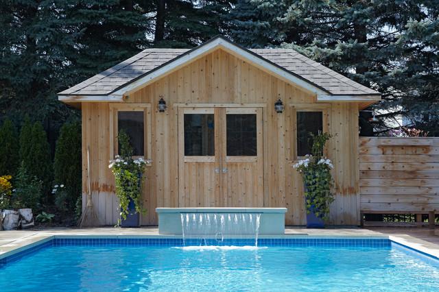 Aurora - Custom Concrete Pool modern-pool