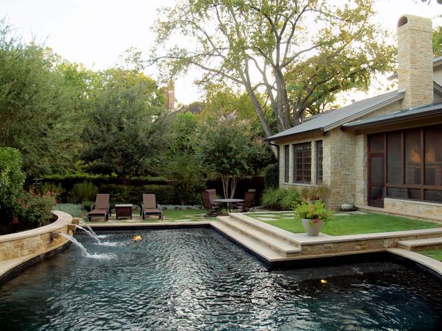 Austin pemperton heights for Pool design austin