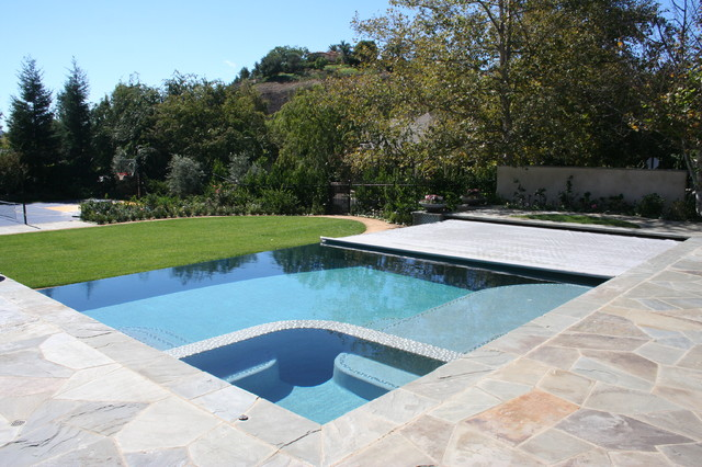 Automatic Cover Pools Modern Pool Los Angeles By