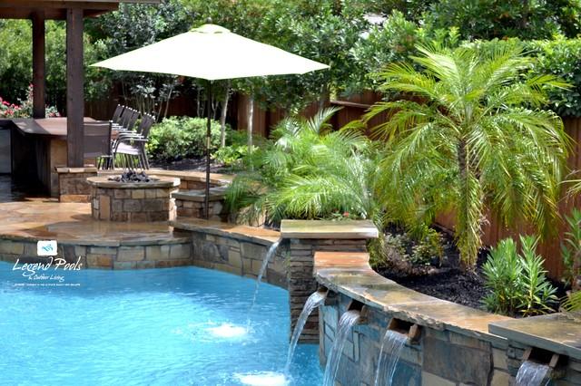 Award winning pool apsp region 3 design award winning pool for Pool design katy