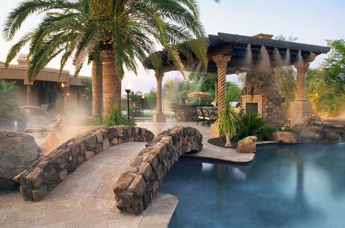 Award Winning Pool Featuring Appalachian Field Stone Siding - Coronado Stone