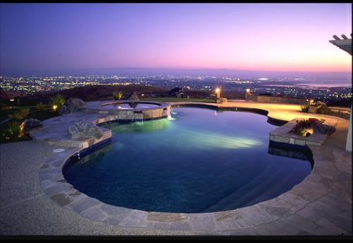 piscina diseño redondo