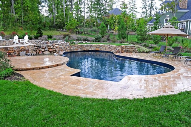 Award winning pools contemporary pool richmond by for Richmond gardens pool