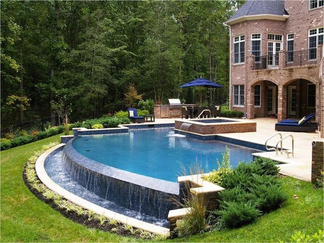 Award winning pools traditional pool richmond by for Richmond gardens pool