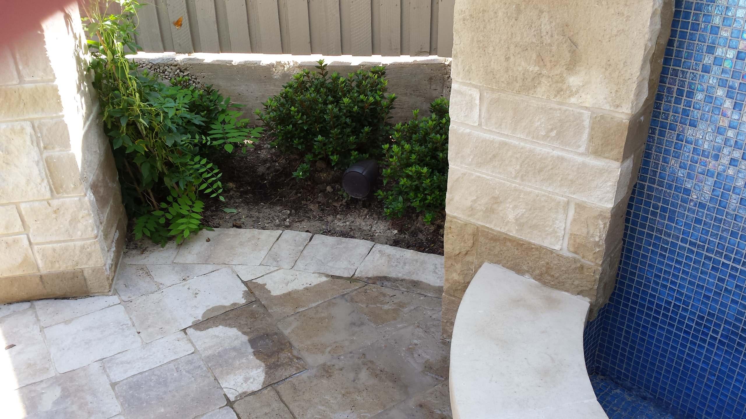 Back Yard A/V -Polk Landscape Speaker