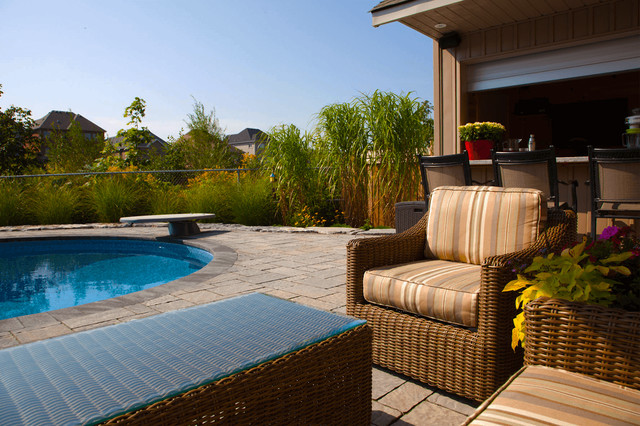 backyard blast cottage inspired pool tropical pool other by