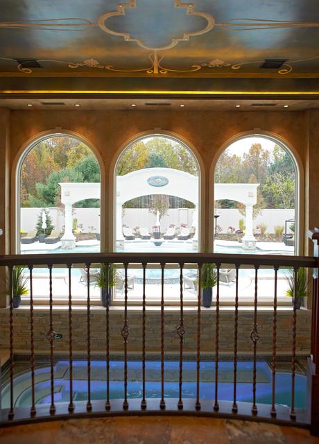 Backyard Luxury Resort traditional-pool