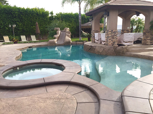Backyard makeover - Tropical - Pool - Los Angeles - by ...