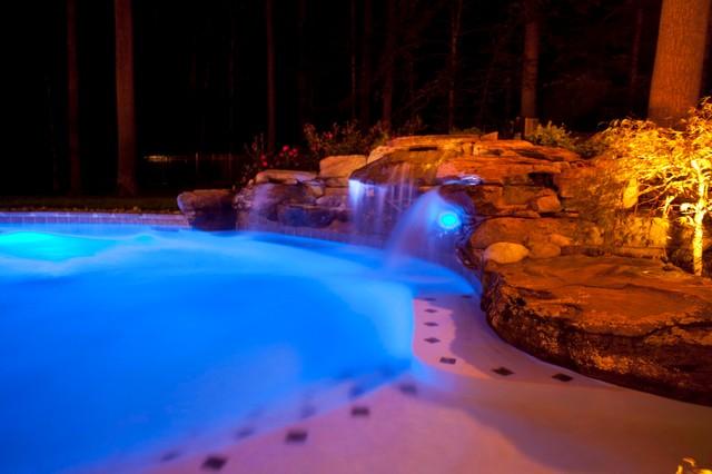 Backyard Oasis Davidsonville Md Traditional Pool