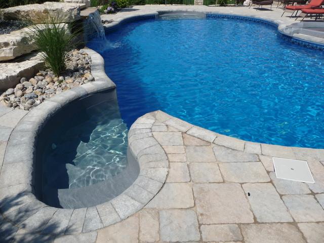 Backyard oasis for Garden oases pool