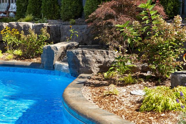 Backyard Paradise With Trinity Inground, Paradise Inground Pools