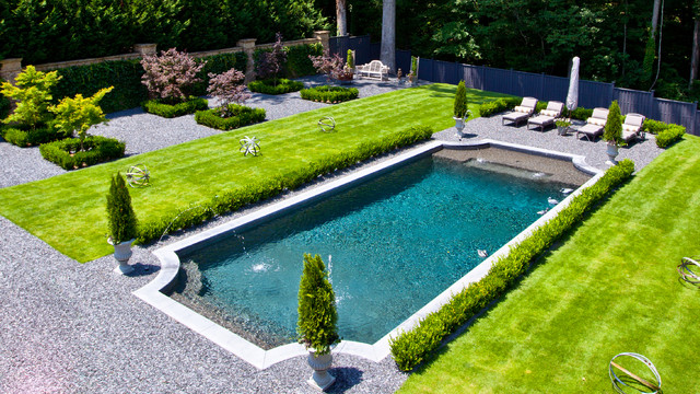 Backyard Space Traditional Pool Atlanta By