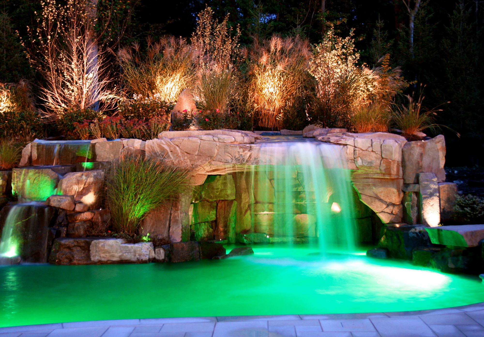 Swimming Pool Waterfall Houzz