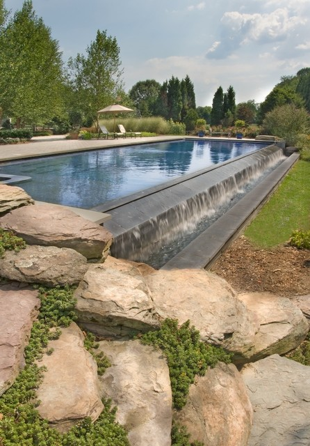 Baker contemporary pool