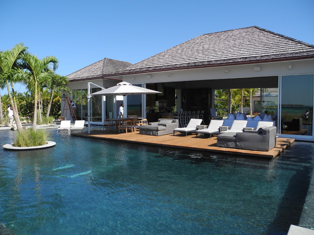 Bakers bay bahamas beach style pool miami by for Pool design miami