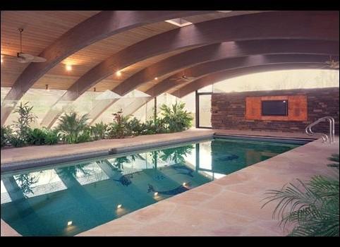 baldinger architectural studio contemporary-pool