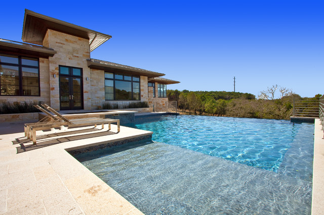 Barton Creek Residence contemporary-pool