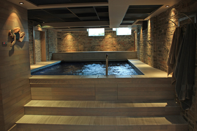 Basement pool bathroom wine cellar laundry media room Basement swimming pool construction